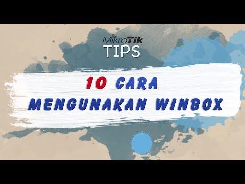 10 Tips Cara Menggunakan Winbox Mikrotik - MIKROTIK TUTORIAL [ENG SUB]