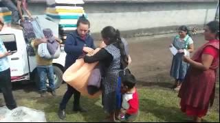 LA PERLA VERACRUZ ENTREGA DE INSUMOS INVERNALES ENERO 2016