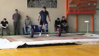 Клещев Дмитрий в/к 85 кг Рывок 3 подход