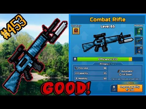 Pixel Gun 3d. {#453} Combat Rifle [Gameplay & Review]