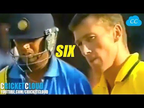 Rahul Dravid's SIX Upset McGrath | Can't believe it | Kept Shaking Head