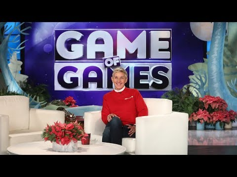 Ellen Previews Her New 'Game of Games' Show!