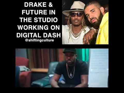 Drake And Future In The Studio