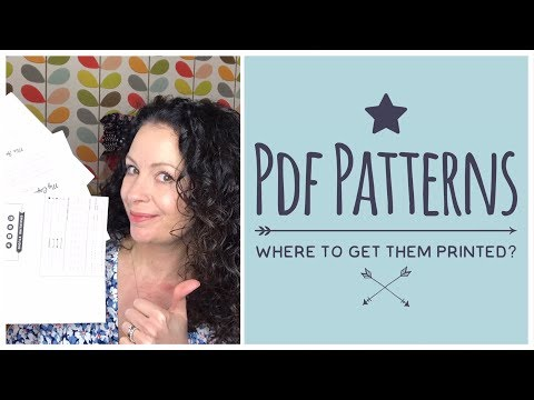 PDF Pattern Printing - Where to Buy? I review 3 companies fo