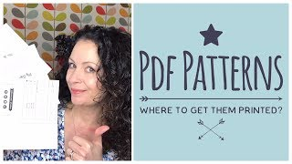 PDF Pattern Printing - Where to Buy? I review 3 companies for you.