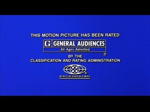 MPAA Rated G (Still) [Closing] (1995) [widescreen]