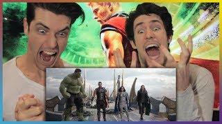 THOR: RAGNAROK Comic-Con Trailer Reaction & Review