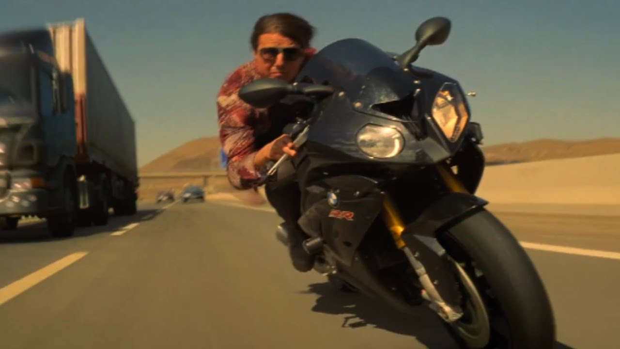 Download Mission: Impossible - Rogue Nation (2015) - Motorcycle Chase Scene [4K Ultra HD]