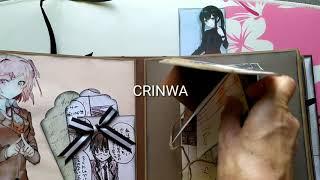 Álbum manga con bolsillos, tarjetas y pop up