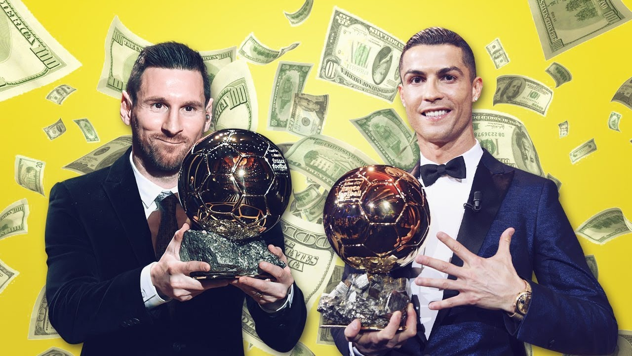Ronaldo vs Messi: Who earned more money beween 2010-2019? | Oh My Goal