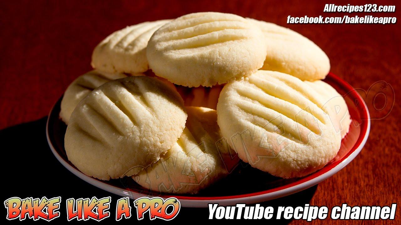 Easy Amazing Butter Cookies Recipe Shortbread cookies ...