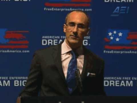 Arthur Brooks speaks at the Chamber of Commerce