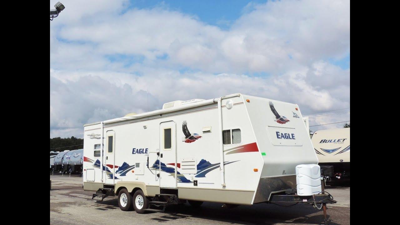 2006 Jayco Eagle 282FKS Front Kitchen 1 Slide Sleeps 6!! - YouTube