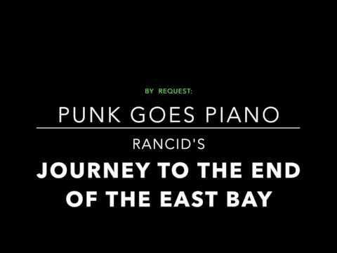Rancid - Journey to the End of the East Bay (Piano Cover)