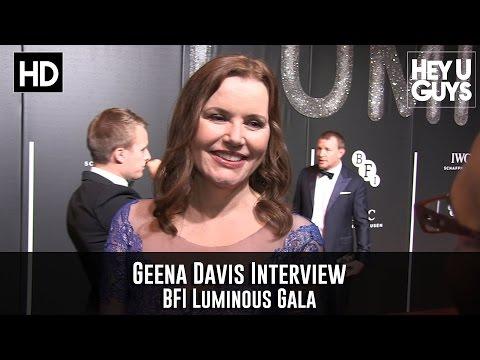 Geena Davis Interview - BFI Luminous Gala 2015