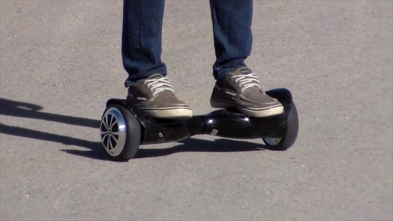 SWAGTRON T5 Hoverboard in action