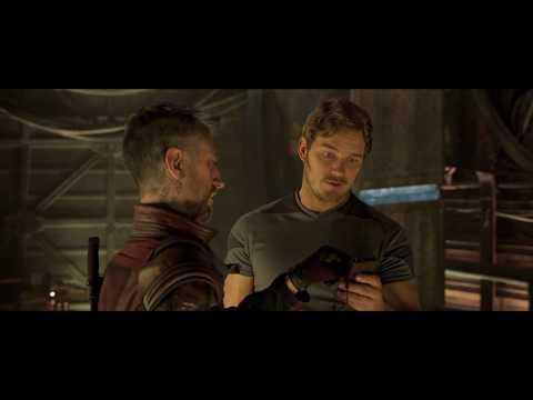 Guardians of the Galaxy: Vol 2: Kraglin & Quill Talk Zune Deleted Scene