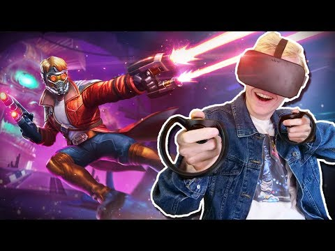 STAR-LORD IN VIRTUAL REALITY! | Marvel Powers United VR (Oculus Rift + Touch Gameplay)