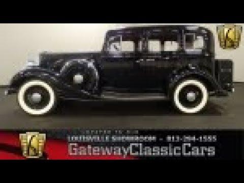 1933 Pontiac Sedan - Louisville - Stock #1786