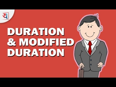 What is Duration & Modified Duration? | Macauley Duration & Modified Duration calculations