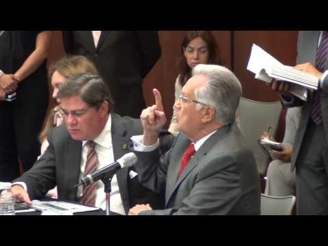 Bartlett encara a Penchyna y lo exhibe como traidor del pueblo mexicano