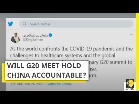 G20 Extraordinary Virtual Leaders' Summit on COVID-19 today
