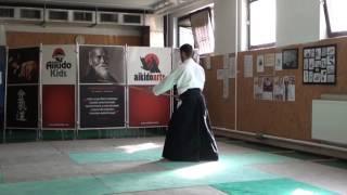 zengo no ido hasso gaeshi ushiro barai [TUTORIAL] Aikido advanced weapon technique