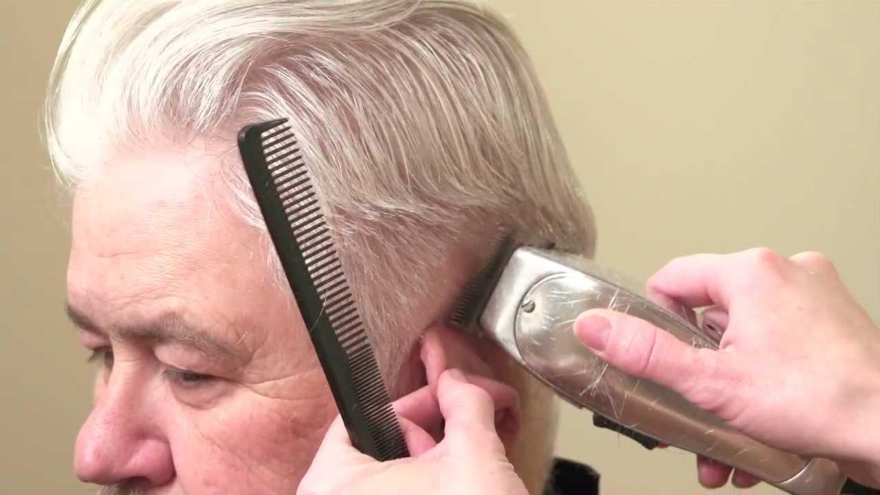How to Cut Mens Hair // Platinum white short haircut