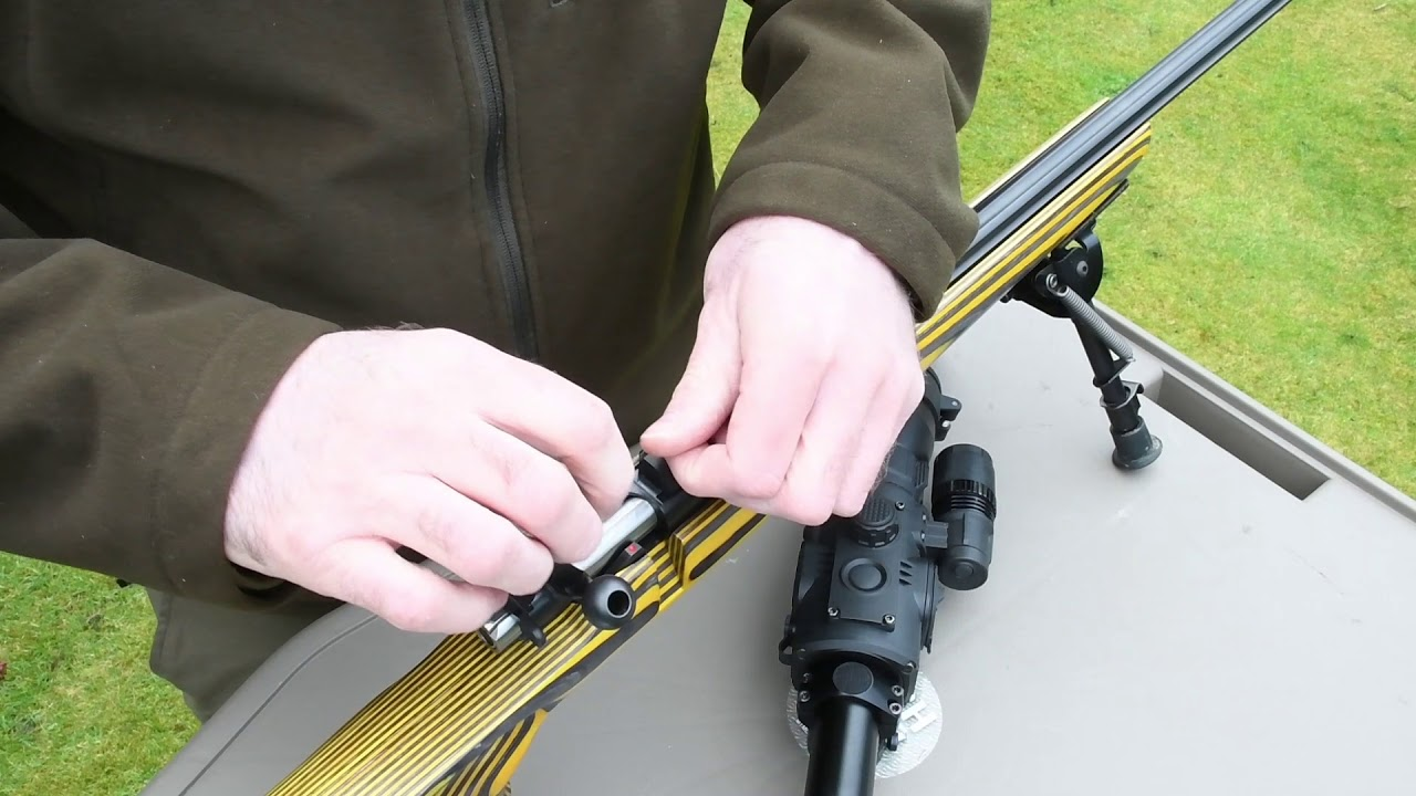 Fitting a 20 M O A  Britannia Scope Rail to a CZ455 Rimfire