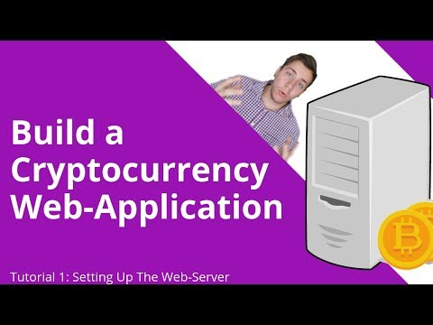 Build A Cryptocurrency Web Application: Tutorial 1 - Setting Up The Web Server