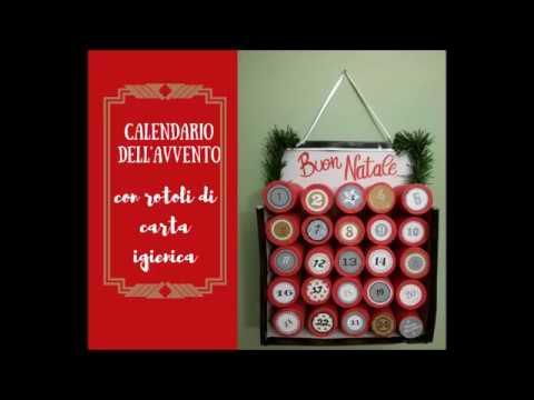 Calendario Avvento Con Rotoli Carta Igienica.Calendario Dell Avvento Con I Rotoli Di Carta Igienica