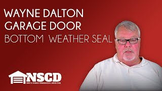 Wayne Dalton Garage Door Bottom Weatherseal