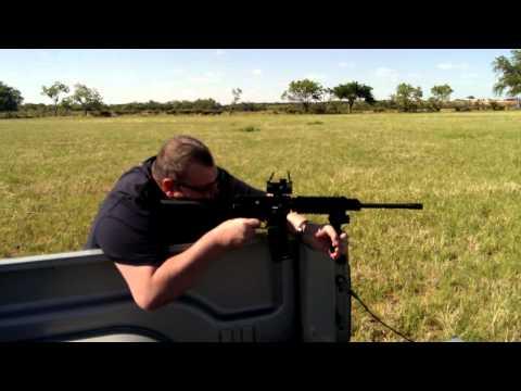 DPMS-AR-15 Break In shots