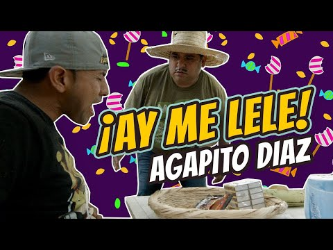 Agapito Diaz en: ME LELE ( Los caramelos ) - JR INN