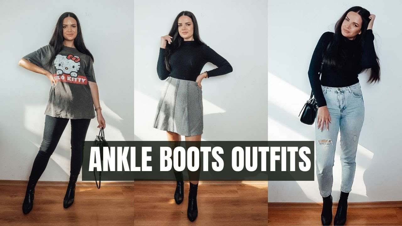 NEW ANKLE BOOTS FROM ZARA AND HOW TO