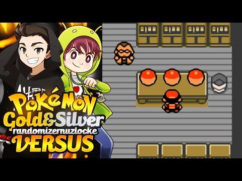 Choose Our Starters! | Pokemon Gold & Silver Randomizer Nuzlocke Versus w/ FeintAttacks!