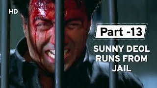Sunny Deol Action In Anger [Part 13] Salaakhen | Amrish Puri | Raveena Tandon | Hindi Action Movie