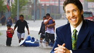 Joel Osteen Closes Doors To Hurricane Victims
