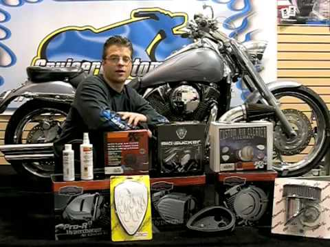 Motorcycle AirFilters & Intake Systems - Do it Yourself Maintenance - Video Guide: Tip of the Week