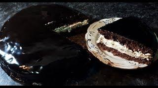 ПРОСТОЙ РЕЦЕПТ ШИКАРНЫЙ ТОРТ ПЛОМБИР В ШОКОЛАДЕ на каждый день к чаю | SIMPLE RECIPE CHOCOLATE CAKE