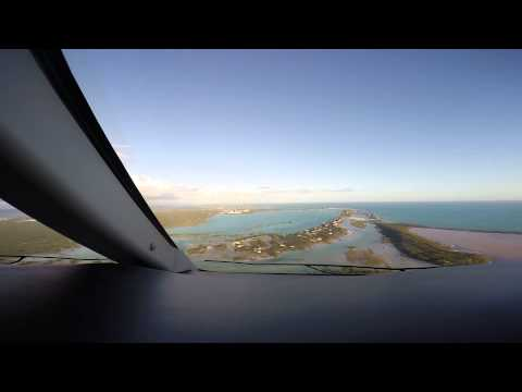 Challenger 300 Landing Provindenciales, Turks and Caicos MBPV