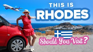 Exploring Rhodes, Greece 🇬🇷 The Perfect 1 Day Road Trip. What to do + Where to go in Rhodes.