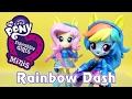 Спортсменка Рэйнбоу Дэш - обзор набора Май Литл Пони (Equestria Girls Minis)