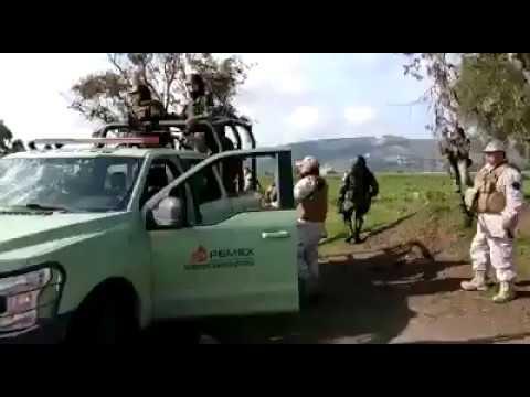 Vídeo Completo Enfrentamientos Guardia Nacional y Huachicoleros