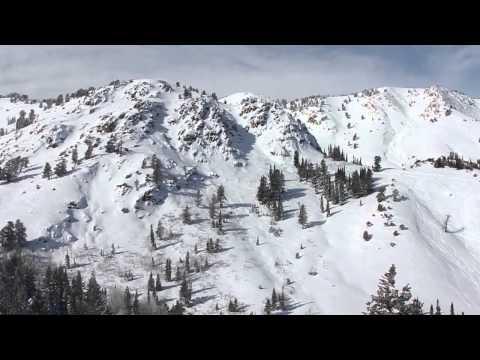 Bluebird Powder Day at Powder Mountain - 1-24-2012