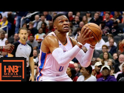 Oklahoma City Thunder vs Washington Wizards Full Game Highlights | 11.02.2018, NBA Season