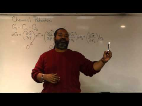What is Chemical Potential? (Single Component Systems)