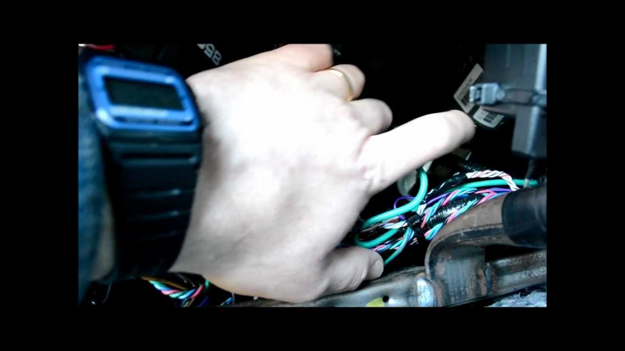 Car Alarm How To Repair Or Remove A Starter Kill Disable Youtube Clifford Matrix 1 Wiring Diagram