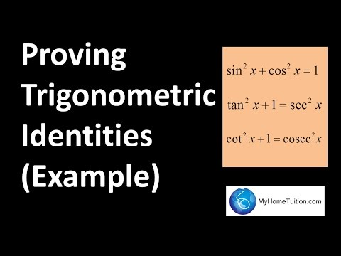 proving identities Trigonometric identities problems and solutions, proof of trigonometric identities, simplify fractions, sin 3x, tan x/2, exercises and solved problems.