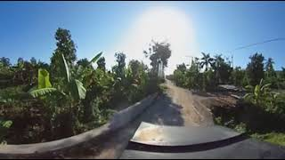 360' video Riding through Numero Deux Haiti